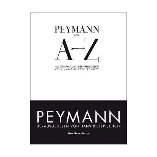 Claus Peymann - Peymann von A bis Z - Preis vom 13.06.2021 04:45:58 h