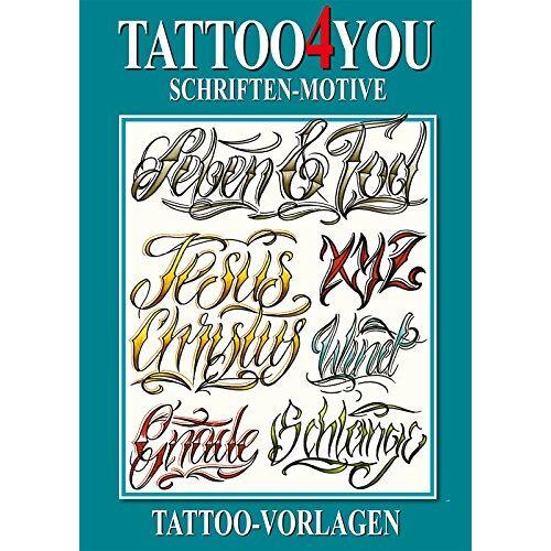 Kruhm Verlag - Tattoo4You - Schriften-Motive - Tattoo Vorlagen - Preis vom 21.06.2021 04:48:19 h