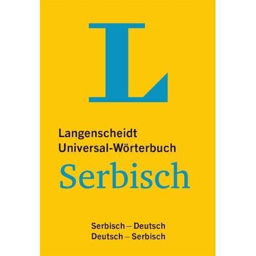 Langenscheidt, Redaktion von - Langenscheidt Universal-Wörterbuch Serbisch: Serbisch-Deutsch/Deutsch-Serbisch (Langenscheidt Universal-Wörterbücher) - Preis vom 19.06.2021 04:48:54 h