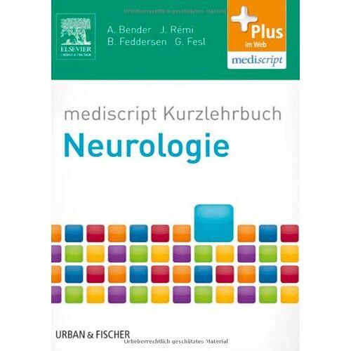 Andreas Bender - mediscript Kurzlehrbuch Neurologie: mit Zugang zur mediscript Lernwelt - Preis vom 14.06.2021 04:47:09 h