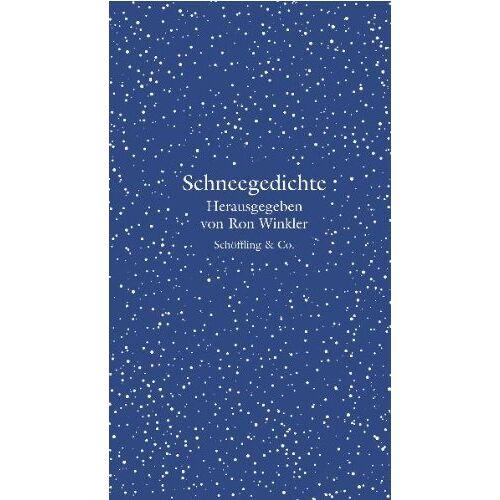 Ron Winkler - Schneegedichte - Preis vom 19.06.2021 04:48:54 h