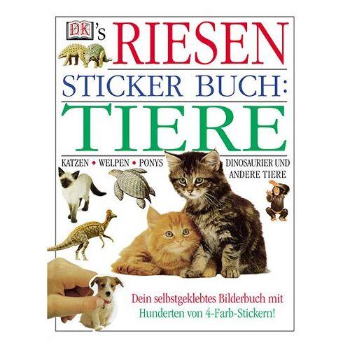 - DK's Riesen Sticker Buch, Tiere - Preis vom 21.06.2021 04:48:19 h