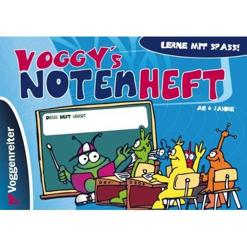 - Voggy's Notenheft (Blanko-Notenheft) - Preis vom 18.06.2021 04:47:54 h