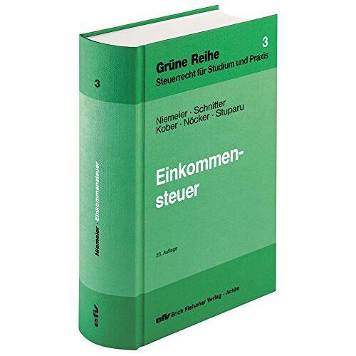 Gerhard Niemeier - Einkommensteuer (Grüne Reihe) - Preis vom 13.06.2021 04:45:58 h
