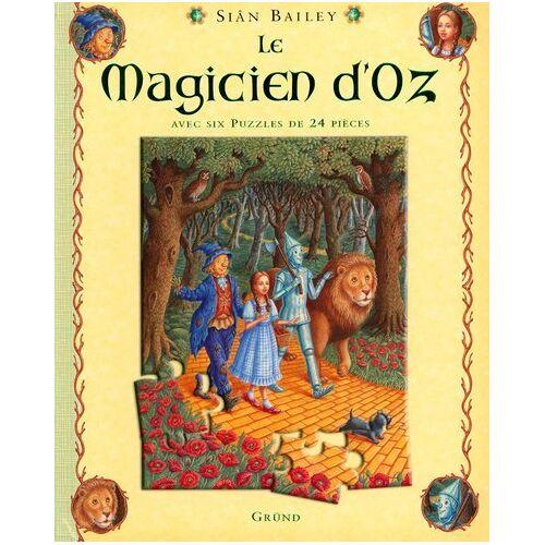Sian Bailey - Le Magicien d'Oz : Avec six puzzles de 24 pièces - Preis vom 19.06.2021 04:48:54 h