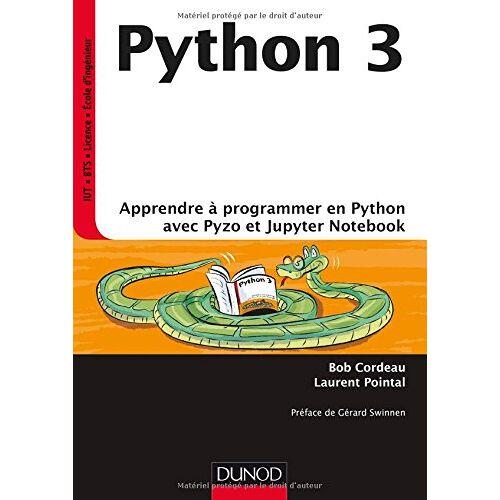 - Python 3 : Apprendre à programmer avec Python et Jupyter Notebook - Preis vom 11.06.2021 04:46:58 h