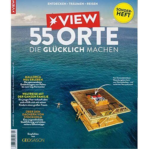 VIEW Sonderheft - VIEW Sonderheft 1/2019 55 Orte die glücklich machen - Preis vom 23.07.2021 04:48:01 h