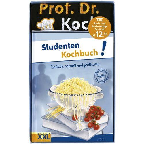 Felix Weber - Studenten Kochbuch! mit Schürze - Preis vom 19.06.2021 04:48:54 h
