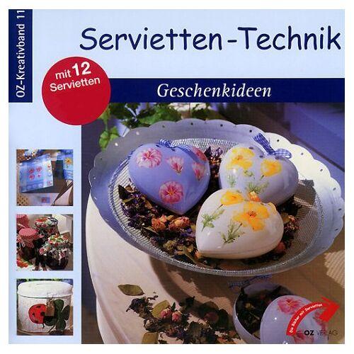 - Servietten-Technik, Geschenkideen, m. 12 Servietten - Preis vom 28.07.2021 04:47:08 h