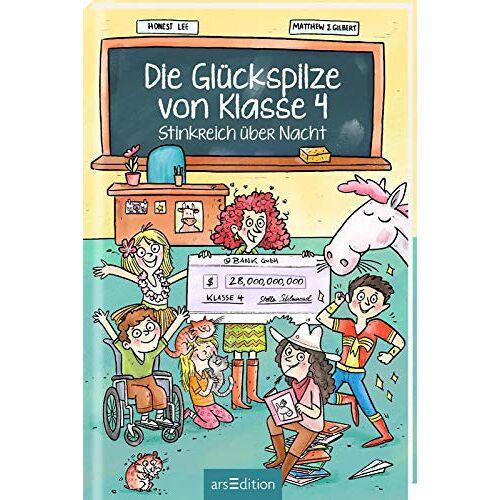 Honest Lee - Die Glückspilze von Klasse 4 - Stinkreich über Nacht (Die Glückspilze von Klasse 4 1) - Preis vom 21.06.2021 04:48:19 h