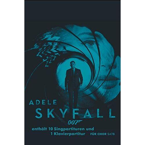 Adele - Skyfall (10 x SATB plus 1 x Klavierstimme) - Preis vom 21.06.2021 04:48:19 h