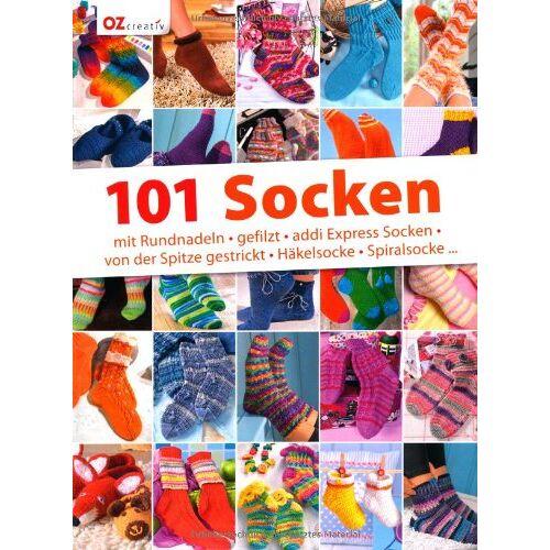 - 101 Socken: mit Rundnadeln, gefilzt, addi Express Socken, von der Spitze gestrickt, Häkelsocke, Spiralsocke... - Preis vom 12.06.2021 04:48:00 h