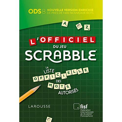 Fédération Internationale De Scrabble - L'officiel Du Jeu Scrabble - Preis vom 21.06.2021 04:48:19 h