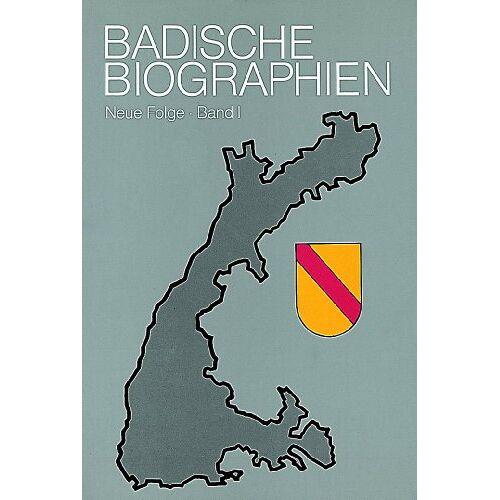 Bernd Ottend - Badische Biographien - Neue Folge: Badische Biographien, Bd.1 - Preis vom 16.06.2021 04:47:02 h