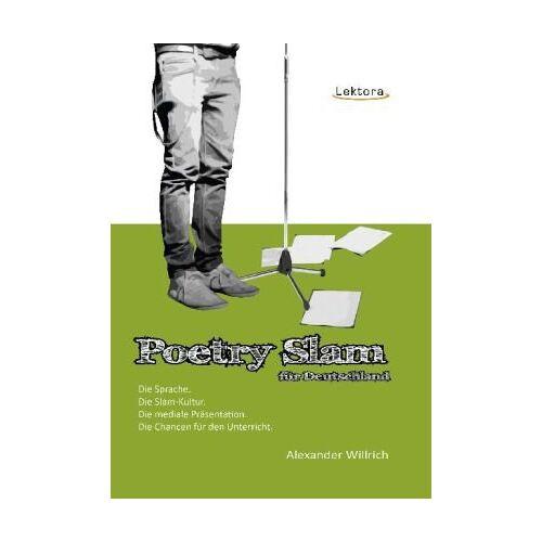 Alexander Willrich - Poetry Slam für Deutschland - Preis vom 15.06.2021 04:47:52 h