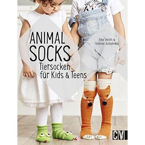 Elke Reith - Animal Socks: Tiersocken für Kids & Teens - Preis vom 11.06.2021 04:46:58 h