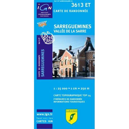 IGN - Sarreguemines / Vallee de la Sarre 1 : 25 000 (Ign Map) - Preis vom 14.06.2021 04:47:09 h