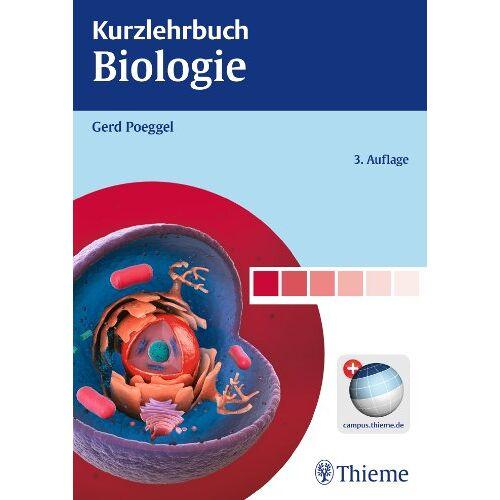 Gerd Poeggel - Kurzlehrbuch Biologie - Preis vom 17.06.2021 04:48:08 h