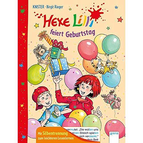 Knister - Hexe Lilli feiert Geburtstag: Mit Silbentrennung zum leichteren Lesenlernen - Preis vom 15.06.2021 04:47:52 h