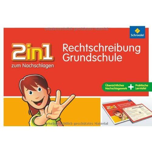 Katja Vau - 2in1 zum Nachschlagen, Grundschule: Rechtschreibung Grundschule - Preis vom 19.06.2021 04:48:54 h