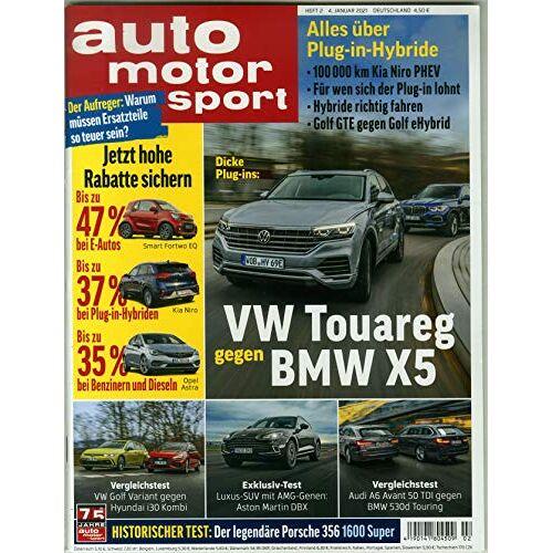 Auto Motor Sport - Auto Motor Sport 2/2021 VW Touareg - Preis vom 17.05.2021 04:44:08 h