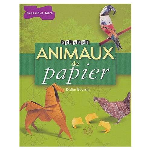 Didier Boursin - Animaux de papier - Preis vom 22.06.2021 04:48:15 h