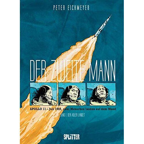 Peter Eickmeyer - Der zweite Mann. Band 1 (von 2): Der Adler landet - Preis vom 14.06.2021 04:47:09 h