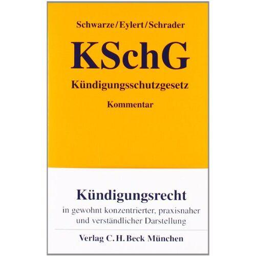 Roland Schwarze - Kündigungsschutzgesetz - Preis vom 12.06.2021 04:48:00 h
