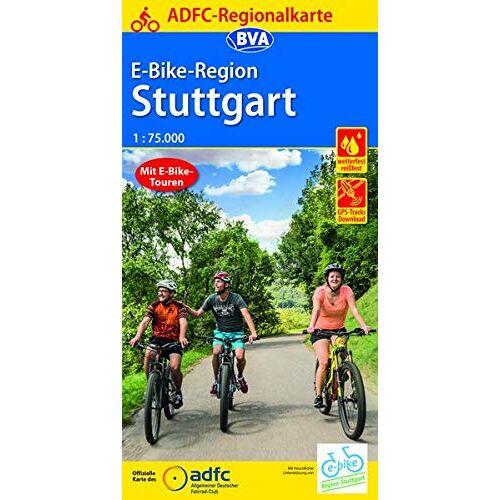 Allgemeiner Deutscher Fahrrad-Club e.V. (ADFC) - ADFC-Regionalkarte E-Bike-Region Stuttgart, 1:75.000, reiß- und wetterfest, mit GPS-Track Download (ADFC-Regionalkarte 1:75000) - Preis vom 16.06.2021 04:47:02 h