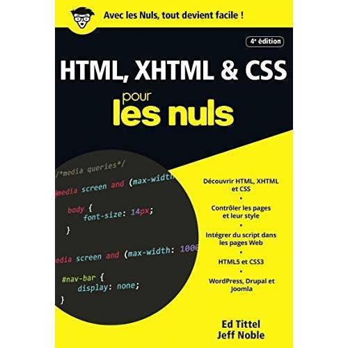 - HTML, XHTML & CSS pour les nuls - Preis vom 19.06.2021 04:48:54 h