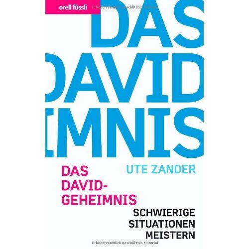 Ute Zander - Das David Geheimnis - Schwierige Situationen meistern - Preis vom 01.08.2021 04:46:09 h
