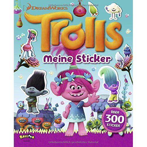 DreamWorks - Trolls - Meine Sticker - Preis vom 21.06.2021 04:48:19 h