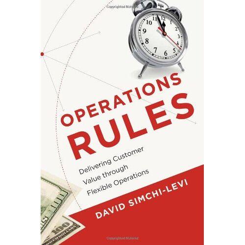 David Simchi-Levi - Operations Rules - Preis vom 21.06.2021 04:48:19 h