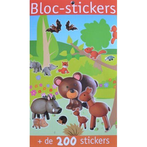 Virginie Chiodo - Bloc-stickers animaux de la forêt : + de 200 stickers - Preis vom 13.06.2021 04:45:58 h