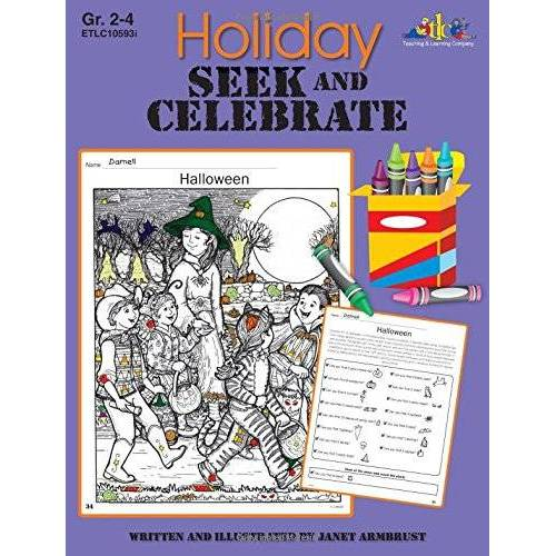 Janet Armbrust - Holiday Seek and Celebrate - Preis vom 16.06.2021 04:47:02 h