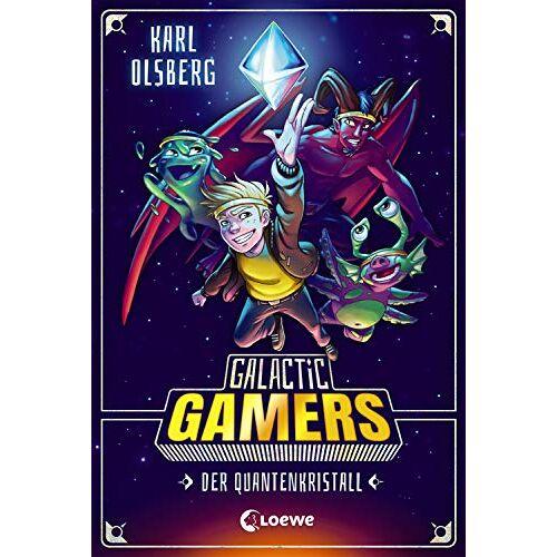 Karl Olsberg - Galactic Gamers - Der Quantenkristall: Kinderbuch für Jungen und Mädchen ab 10 Jahre - Preis vom 21.10.2021 04:59:32 h
