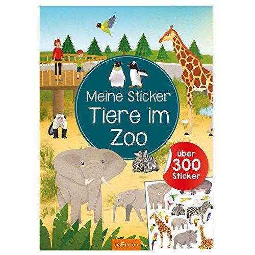 - Meine Sticker - Tiere im Zoo: Über 350 Sticker (Mein Stickerbuch) - Preis vom 23.09.2021 04:56:55 h