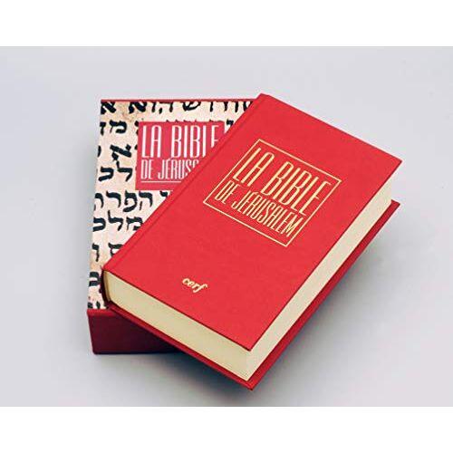 - La Bible de Jérusalem - Preis vom 16.06.2021 04:47:02 h