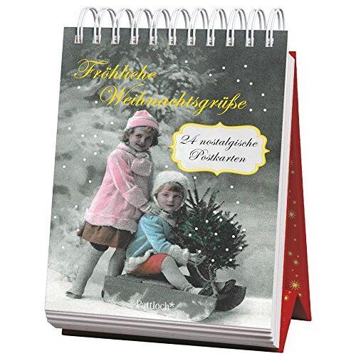 - Fröhliche Weihnachtsgrüße: 24 nostalgische Postkarten - Preis vom 11.06.2021 04:46:58 h