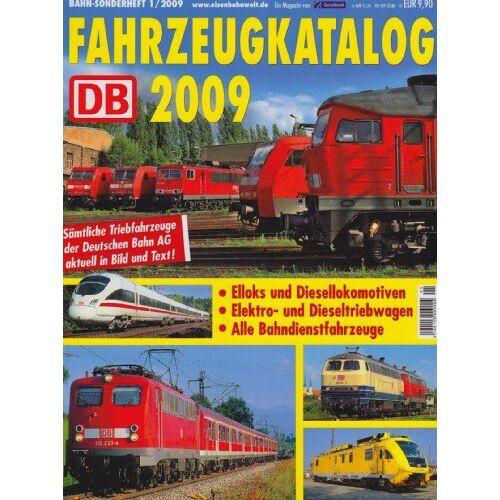 Thomas Hanna-Daoud - Fahrzeugkatalog 2009: Sämtliche Triebfahrzeuge der Deutschen Bahn AG aktuell in Bild und Text! - Preis vom 22.09.2021 05:02:28 h