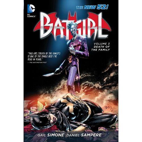 Gail Simone - Batgirl Vol. 3: Death of the Family (The New 52) (Batgirl (DC Comics Hardcover)) - Preis vom 19.06.2021 04:48:54 h