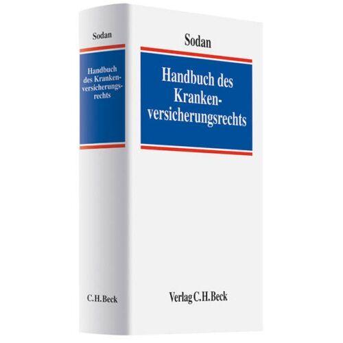Helge Sodan - Handbuch des Krankenversicherungsrechts - Preis vom 17.05.2021 04:44:08 h