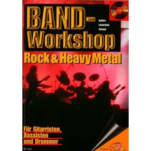 Bodo Schopf - Band-Workshop: Rock & Heavy Metal. Gitarre, Bass, Drums. Ausgabe mit CD. (Schott Pro Line) - Preis vom 22.06.2021 04:48:15 h