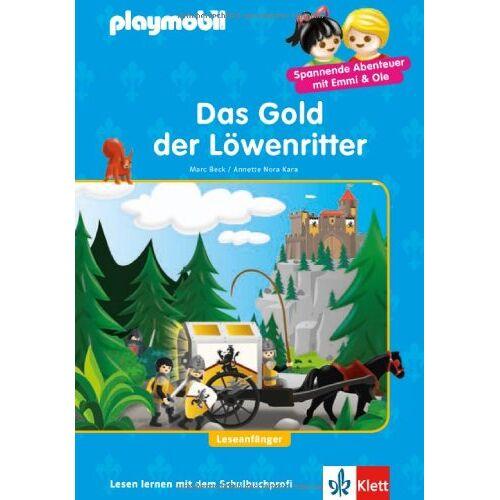 Marc Beck - PLAYMOBIL Das Gold der Löwenritter: Löwenritter - Lesen lernen - Leseanfänger - Preis vom 02.08.2021 04:48:42 h