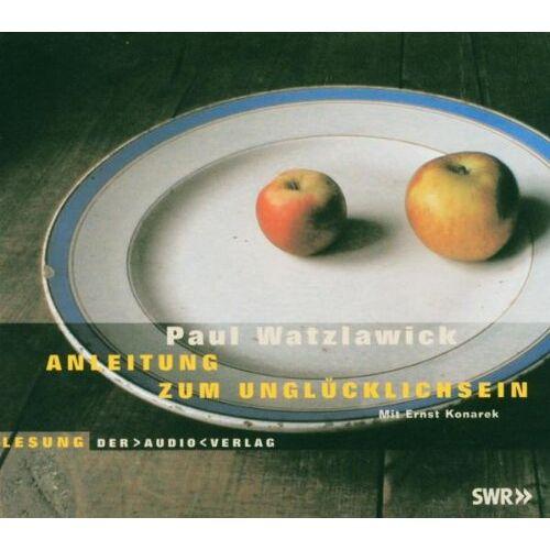 - Watzlawick, P: Anleitung zum Unglücklichsein - Preis vom 23.07.2021 04:48:01 h