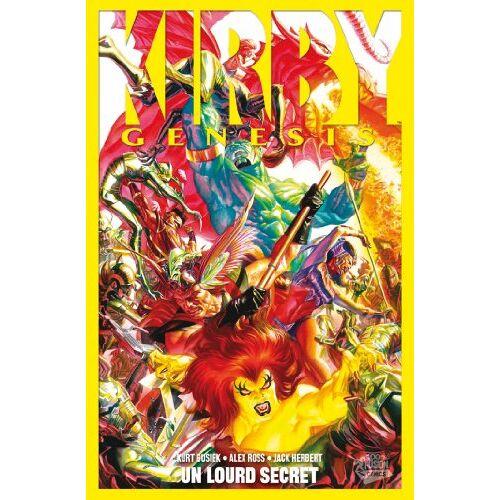 Jack Kirby - Kirby : Genesis, Tome 2 : Un lourd secret - Preis vom 17.06.2021 04:48:08 h