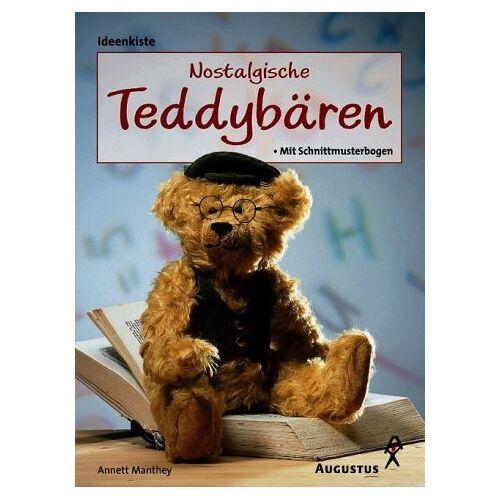 Annett Manthey - Nostalgische Teddybären selber machen. Mit Schnittmusterbogen - Preis vom 16.06.2021 04:47:02 h