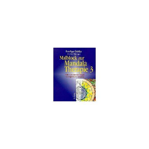 Ruediger Dahlke - Malblock zur Mandala-Therapie, Bd.3, Vom Altertum zur Neuzeit - Preis vom 15.10.2021 04:56:39 h
