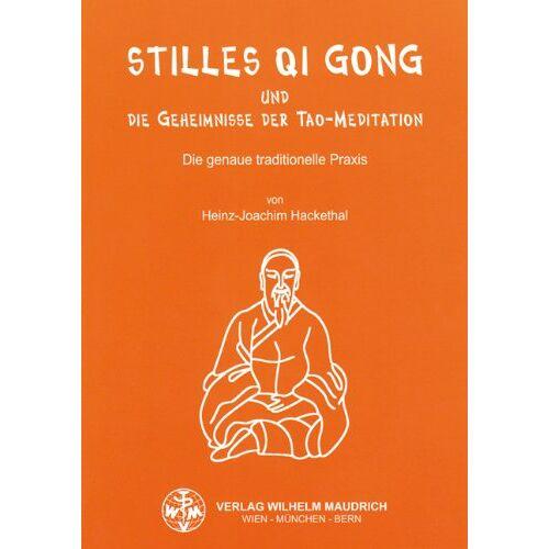 Heinz-Joachim Hackethal - Stilles Qi Gong und die Geheimnisse der Tao-Meditation - Preis vom 15.06.2021 04:47:52 h