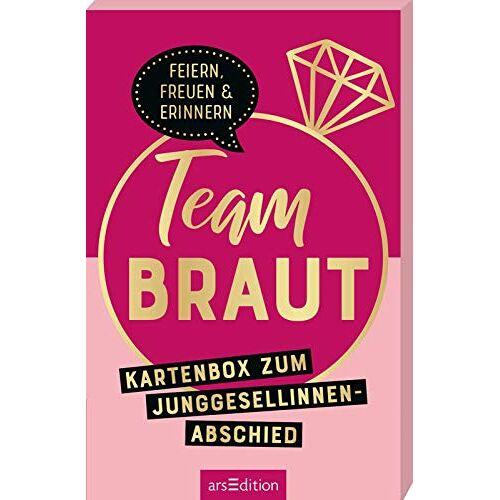 - Team Braut: Kartenbox zum Junggesellinnenabschied - Preis vom 29.07.2021 04:48:49 h